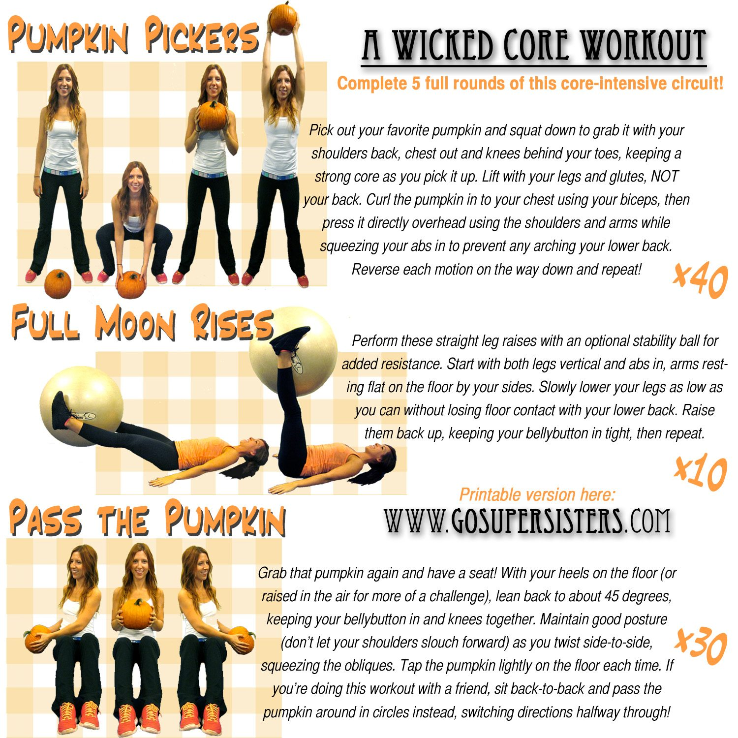 A Wicked Core Workout!