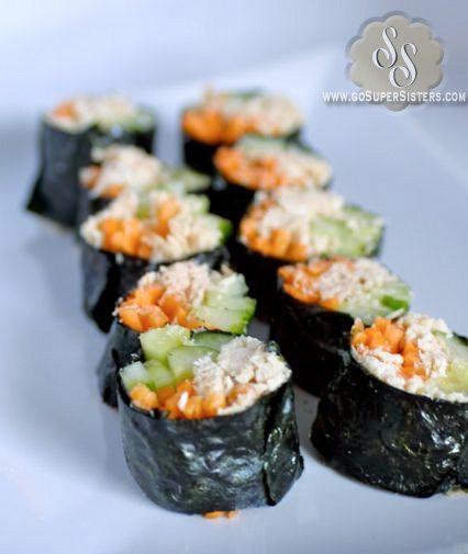 No Carb Sushi Rolls