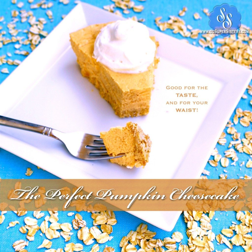The Perfect Pumpkin Cheesecake