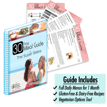 Get naturally lean with our 30 day meal guide in The Super Body System!